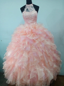 Vestido De 15 Color Salmon