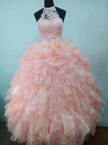 c91d6388ad Vestido De 15 Color Salmon - Vestidos de 15 Largos de Mujer en ...