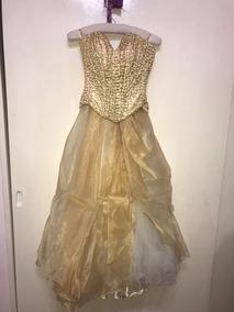 9cdf9c950a Vestido 15 Dorado - Vestidos de 15 de Mujer en Mercado Libre Argentina
