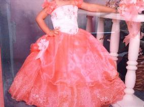 Vestido De 3 Años Para Presentacion Col Coral