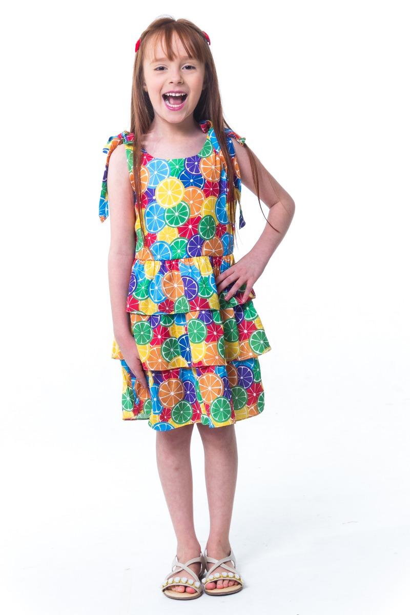 959b42ffe vestido de alça infantil summer - tamanho 1. Carregando zoom.