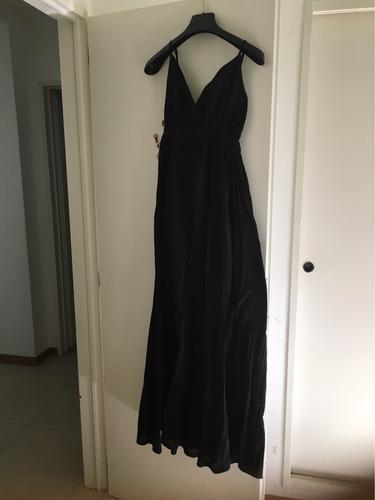vestido de algodón largo