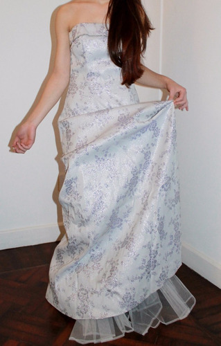 vestido de alta costura, ideal15. importado.