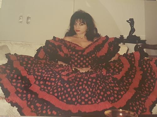 vestido de baile flamenco original de sevilla. sin uso