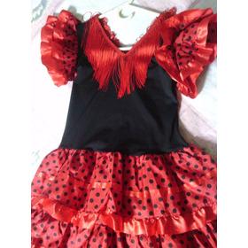 Vestido De Baile Flamenco Talla 12