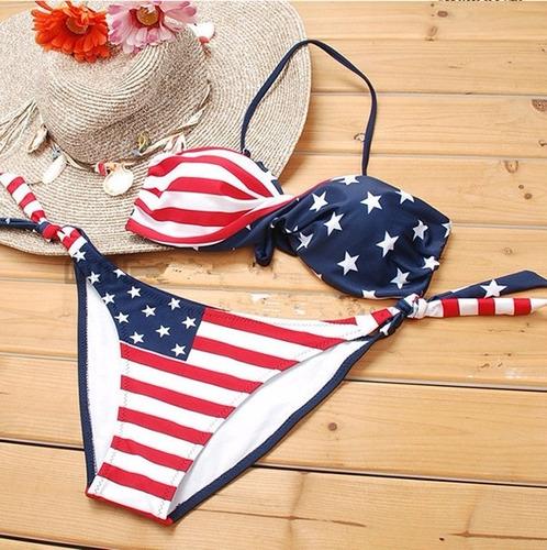 vestido de baño americano  salida pareo bikini playa piscina