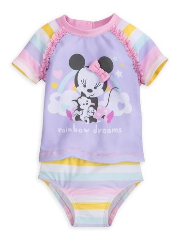 vestido de baño para bebé minnie mouse original disney