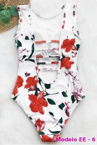 vestido de baño traje enterizo estampados personalizados