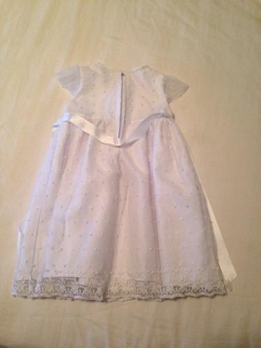vestido de bautismo 1 año