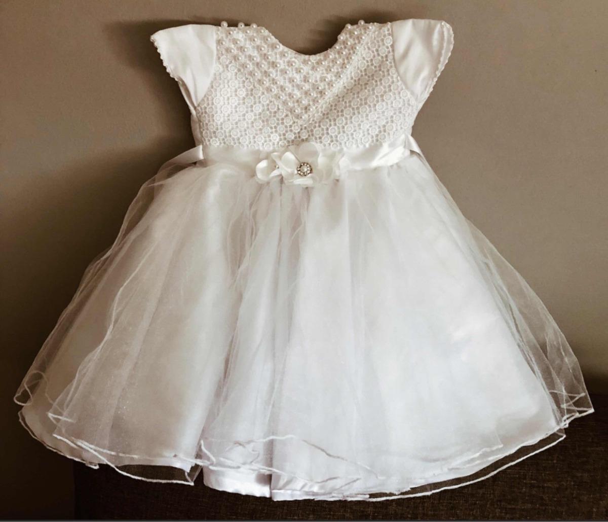 a3e4e8d8e087a Vestido De Bautizo -   450.00 en Mercado Libre