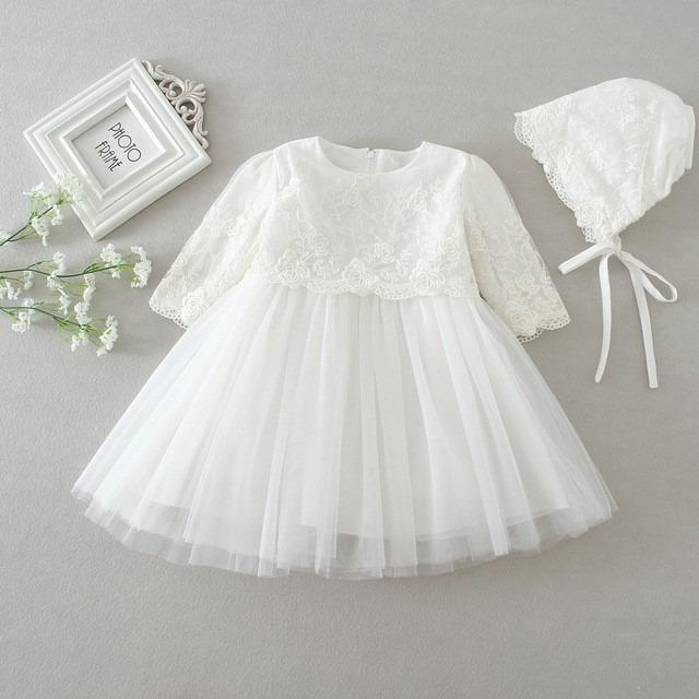 Vestidos blancos para un bautizo