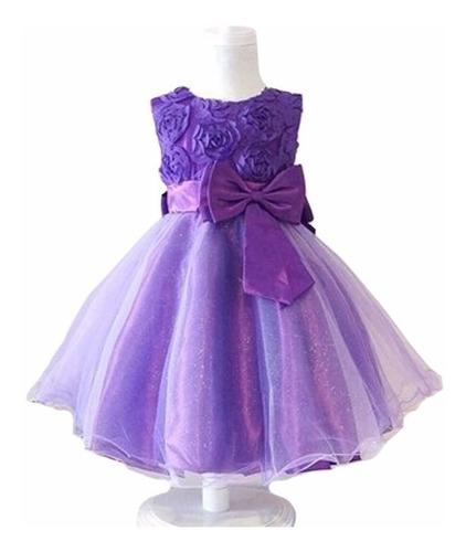 vestido de bautizo - hortensia - petalos para ti