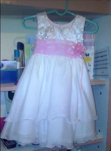 vestido de bautizo nina talla 2