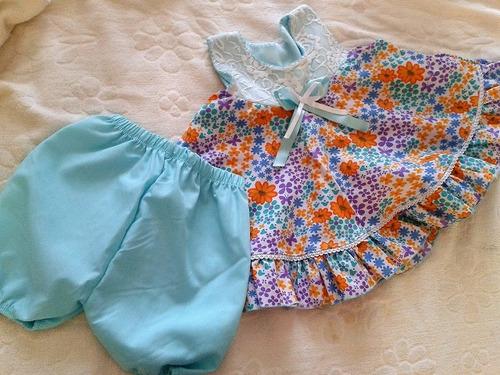 vestido de bebé 6 -9 meses
