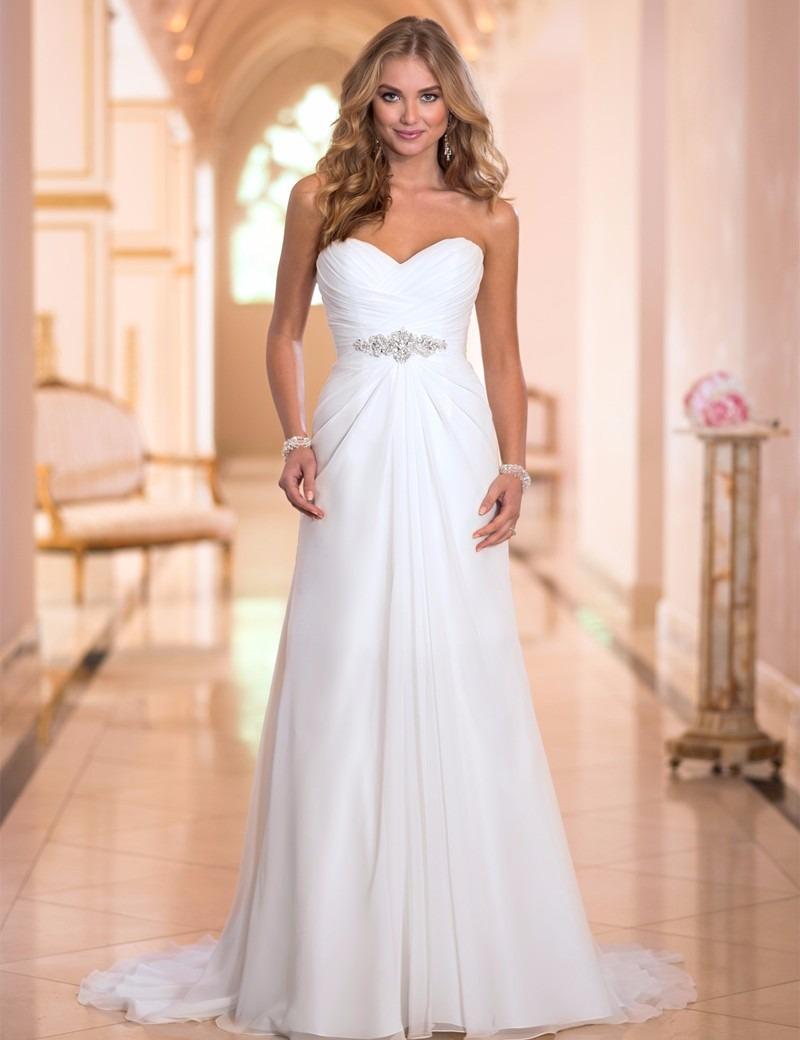 Vestido De Boda De Novia Economico Envio Gratis !! - $ 4,700.00 en ...