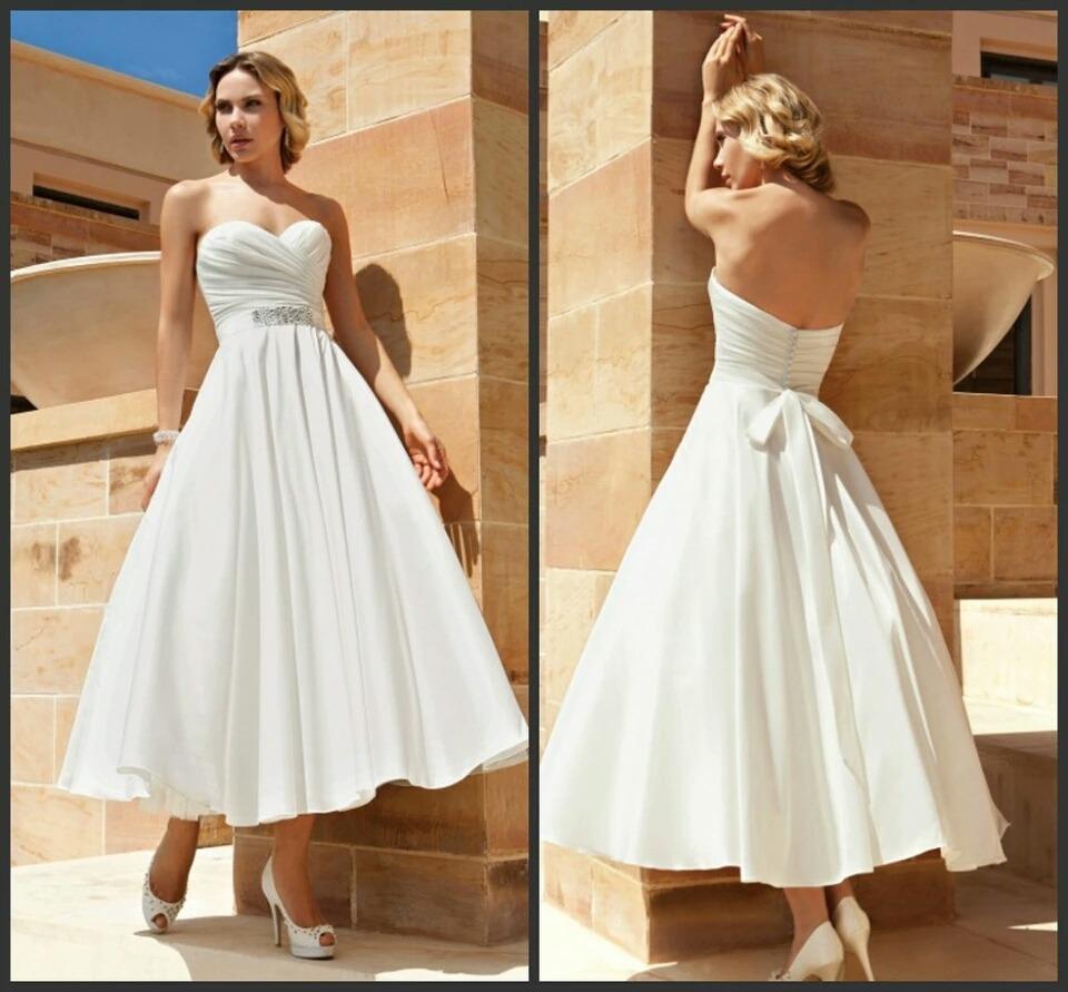 Vestidos para boda civil en playa