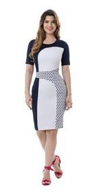 23ec7ef5a Vestido Preto E Branco Clássico - Vestidos Femeninos com o Melhores Preços  no Mercado Livre Brasil