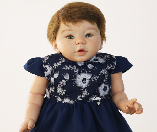 vestido de boneca reborn katitus
