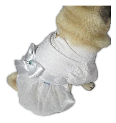 vestido de cachorro/gato casamento noiva luxuoso +véu e laço