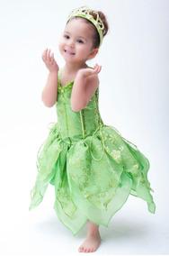 Vestido De Campanita Tallas 2 Y 4