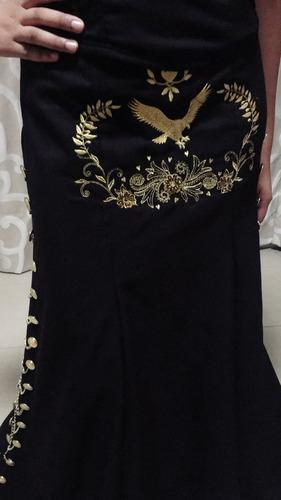 vestido de charra traje regional mexicano mariachi