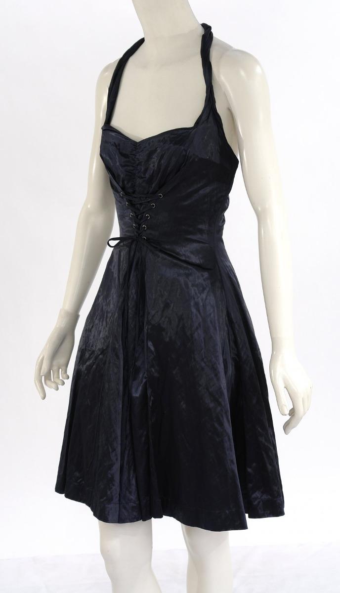 Vestido de coctel azul marino adolfo dominguez 1 950 for Adolfo dominguez coctel