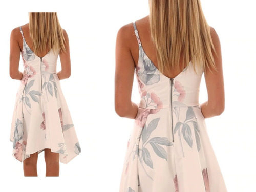 vestido de cóctel -  noche - fiesta  0101199  elbauldecorina