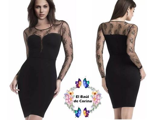 vestido de cóctel - noche - fiesta  (010134) elbauldecorina