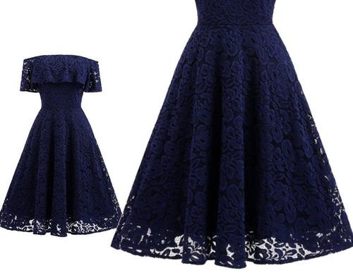 vestido  de cóctel - oficina (0101153)  elbauldecorina