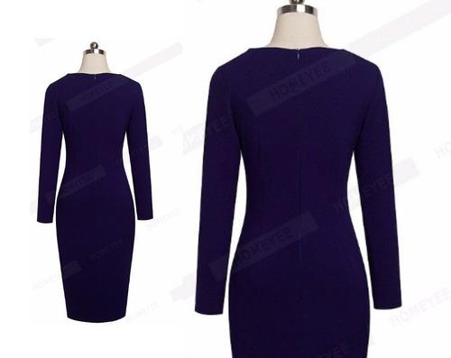 vestido de cóctel - oficina - noche (0101111) elbauldecorina