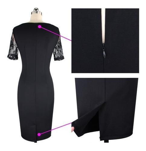 vestido de cóctel - oficina - noche (0101146) elbauldecorina