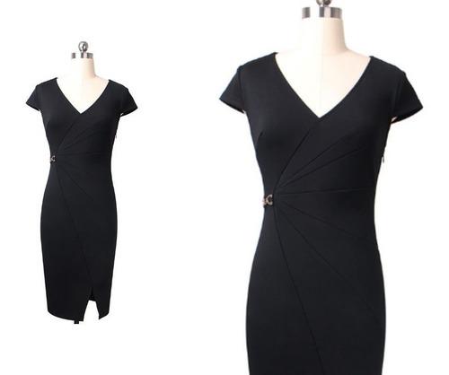 vestido de cóctel - oficina - noche  0101189  elbauldecorina
