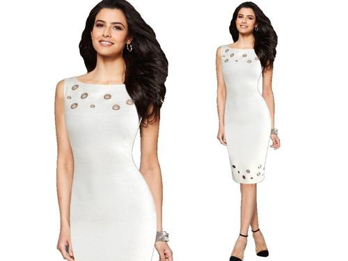vestido de cóctel - oficina - novia 0101160  elbauldecorina