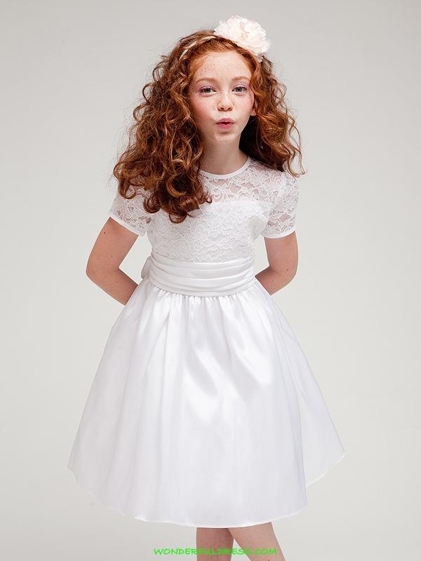 vestidos de primera comunion cortos para 12 anos