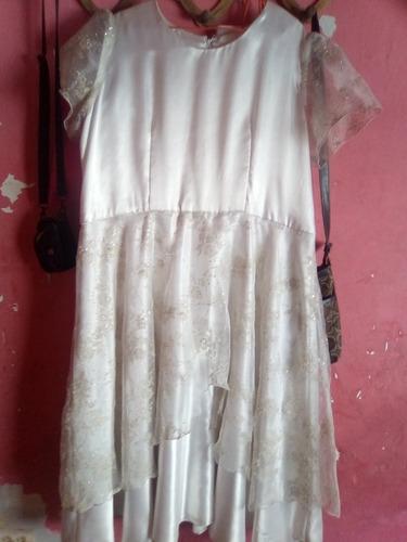 vestido de comunión talla grande
