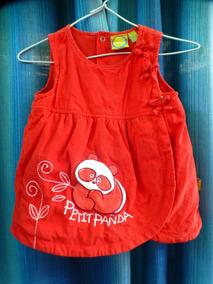 f0d6e6afd Vestido De Corderoy Rojo Para Niña - Ropa y Accesorios en Mercado Libre  Argentina