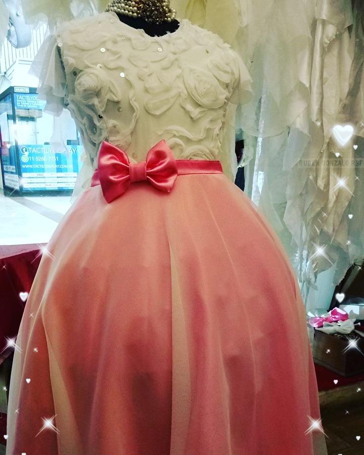 vestido de cortejo y o fiesta para niña talle 16 y xl. Cargando zoom. abcc53a463b3