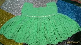 618bb9e01 Vestidos Para Bebês Em Crochê - Vestidos de Bebê no Mercado Livre Brasil