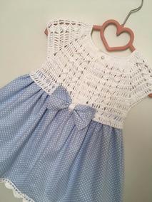 092c0a6e618a Vestido De Croche Infantil Para 2 Anos - Calçados, Roupas e Bolsas com o  Melhores Preços no Mercado Livre Brasil