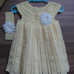 Colete De Croche De Menino Vestidos Casual Pele Com O