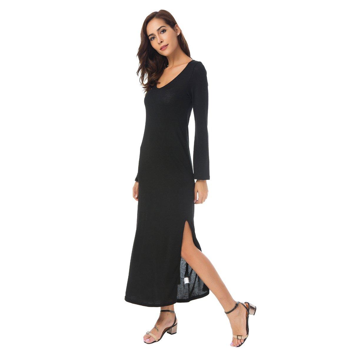 f49fa398e18 vestido de cuello alto con cuello en v para mujer de zumi. Cargando zoom.