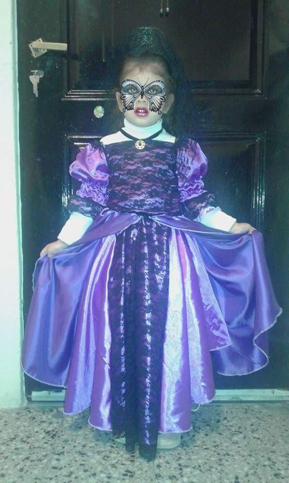 Vestido De Dama Antigua - $ 600,00 en Mercado Libre