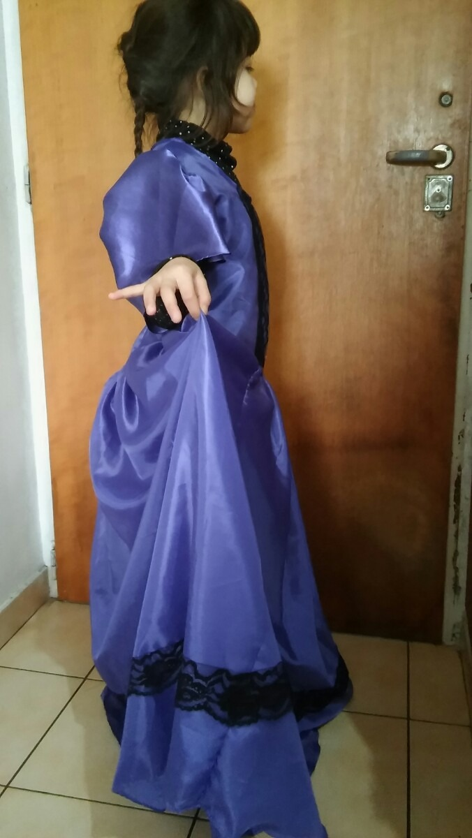 Vestido De Dama Antigua Para Nena De 2 A 6 Años - $ 650,00 en ...