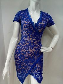 Vestidos Color Azul Rey Mujer Vestidos De Mujer Corto
