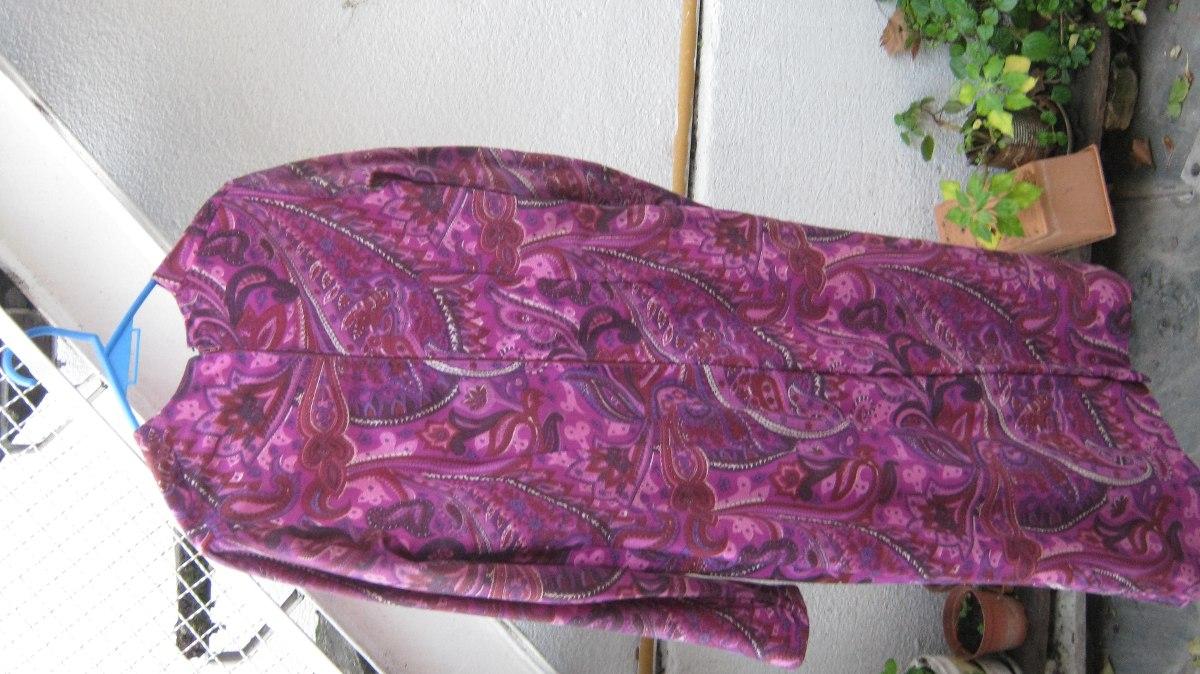 Vestido De Dama Con Diseño De Arabescos Con Chal Impecable - $ 980 ...