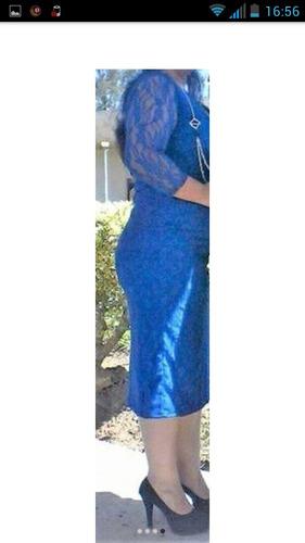vestido de dama elegante