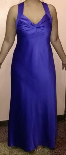 vestido de dama gala largo de noche calvin klein