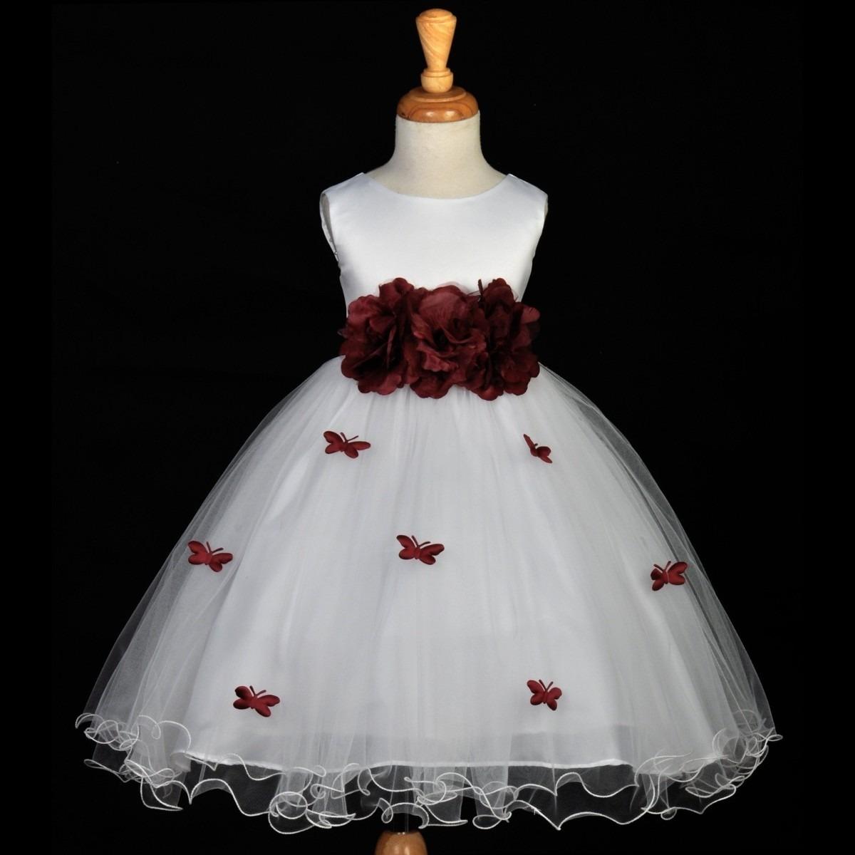 Vestido de dama vermelho