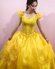 3933979bfc1 Vestido De Debutante Bela E A Fera 2 Em 1 (festa De 15 Anos)