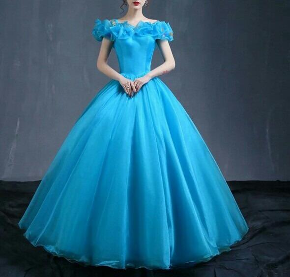 vestido de debutante cinderela r 1 200 00 em mercado livre